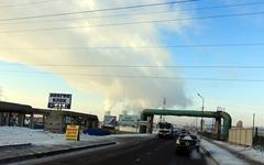 올란바타르의 심각한 대기오염