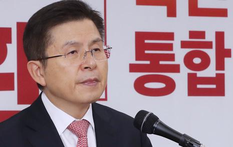 """'반문 대통합' 앞세운 황교안 """"우리공화당 안 된다? 목표 더 커야"""""""