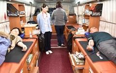거제해양관광개발공사 직원들, 헌혈 캠페인