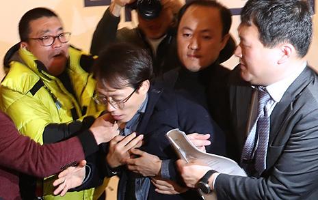 """미래한국당 창당대회 급반전 시킨 한마디 """"가짜정당 해산하십시오"""""""