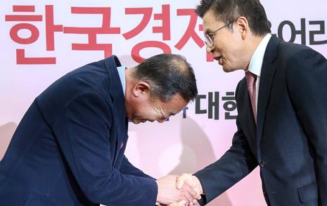 '의리' 외치던 손학규맨 이찬열, 한국당 입당