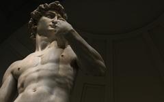 미켈란젤로를 열받게 만든 다빈치의 태도