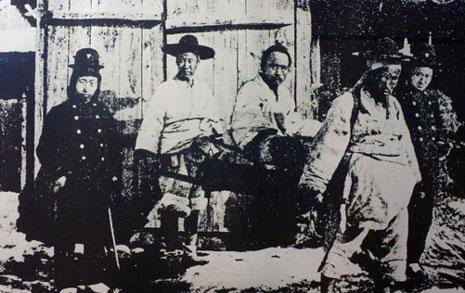 일본군 앞잡이 관군의 만행