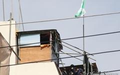 대구 동인동 재개발 철거민들 옥상 망루에서 강하게 저항