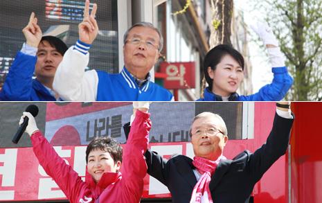 김종인-이언주의 4년전 사진이 급소환된 까닭