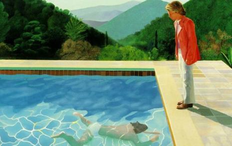 연인과 이별 후에 그린 호크니 그림이 그토록 비싼 이유