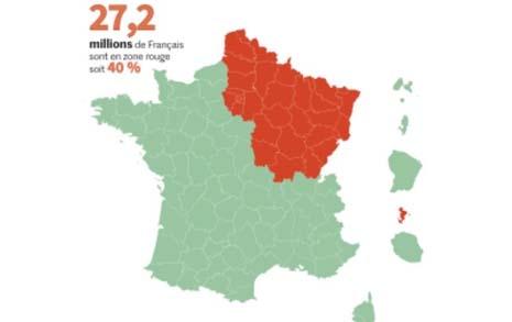 녹색·적색으로 갈라진 프랑스... 11일부터 불안한 재시동