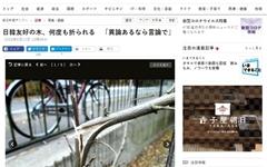 일본서 '윤동주 시인 기념비' 앞 무궁화 잇달아 꺾여 '수난'