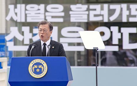 """""""울컥해"""" 5·18 40주년 기념식 본 열세 살 아이들 반응"""
