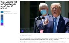 """미 국립보건원장 """"코로나19 백신은 '글로벌 공공재'... 공유해야"""""""