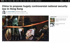 중국, 홍콩 국가보안법 직접 제정 '초강수'... 범민주 '강력 반발'