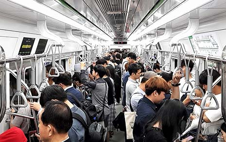 지하철 '혼잡' 표시 어떻게 알려주나 궁금했죠?