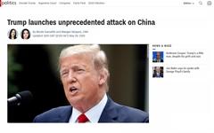 """트럼프 """"홍콩 특별지위 박탈할 것... WHO와도 관계 끝낸다"""""""