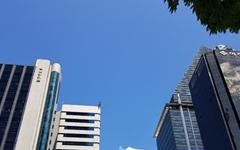 [사진] 맑고 파란 강남의 하늘