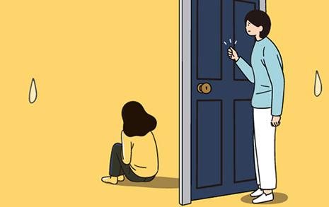 우울증에 걸린 딸... 엄마는 이렇게 지내요