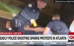 미국 경찰 총격에 또 흑인 사망, 격렬 시위 벌어져