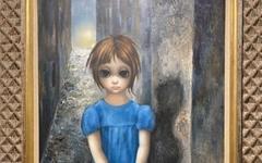 커다란 눈을 한 소녀, 한 여성 화가의 비밀
