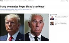 """트럼프, '비선 참모' 로저 스톤 특별 감형... 민주당 """"법치 모욕"""""""
