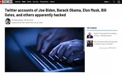 오바마·바이든·빌게이츠 등 유명 인사 트위터 대거 '해킹'