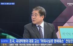 조국 전 장관의 허위보도 법적 대응은 재기의 신호?