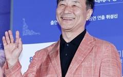 [오마이포토] '늙은 부부이야기: 스테이지 무비' 김명곤, 넉넉한 웃음