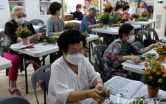 미로시장 2층 '원주행복지킴이', 자원봉사와 후원으로 운영