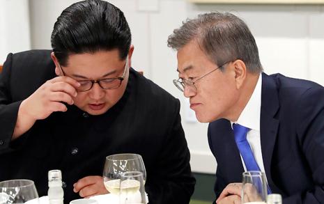 [전문] 문재인-김정은 오간 친서 내용 보니