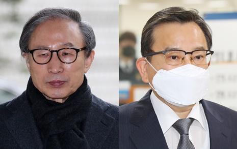 7년·13년 만의 단죄, 김학의·이명박의 공통점