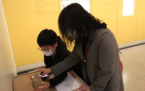 점자도 없이 작은 숫자 읽으라니... 국립중앙박물관, 최선인가요?