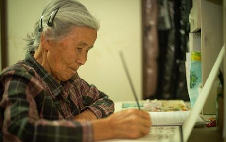 88세에 두 번째 시집을 낸 할머니 시인 황보출