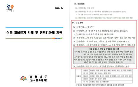 '알레르기억제' 급식 논란 충남도, 의원 제동에도 강행했다