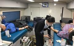 부산해양경찰, 4번째 단체 헌혈로 '생명 나눔'