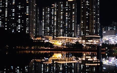 밤 9시, 방탄소년단과 동탄 호수공원을 뜁니다