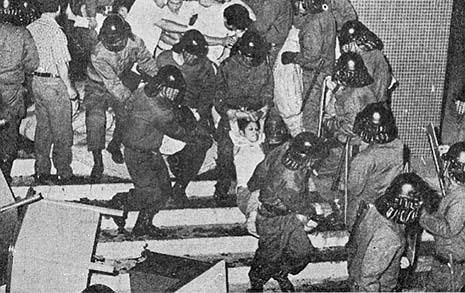 조작된 여성 노동자의 죽음...  야당 당사에서 벌어진 참사