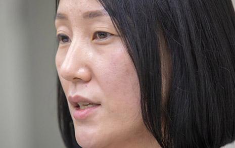 베테랑 트럭커 김지나, 화물연대 최초 여성지부장 되다