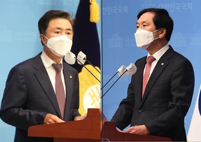 '주호영 다음은 나', 김태흠·김기현이 던진 출사표