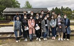 중앙아시아 유학생들의 한국 전통문화 체험