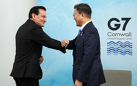 아스트라제네카 CEO는 왜 스스로 문 대통령 찾아왔나