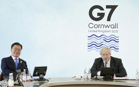 G7 정상회의 '상석' 앉은 문 대통령, 이런 이유 때문이었다