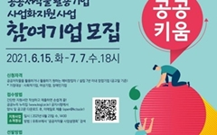 무료 공공저작물 '공공키움' 사업 참여기업 공모