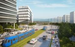 영화 속 '친환경 트램' 현실로... 성남시 트램 사업 첫발