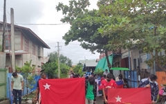 """[미얀마] """"쿠데타 군대 이탈해 시민불복종항쟁 결합 늘어"""""""