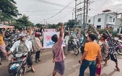 [미얀마] 쿠데타 200일째, 멈추지 않는 곳곳 '민주화 시위'