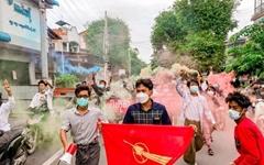 [미얀마] '체포', '언론 탄압' 속 시민들 민주화시위 계속