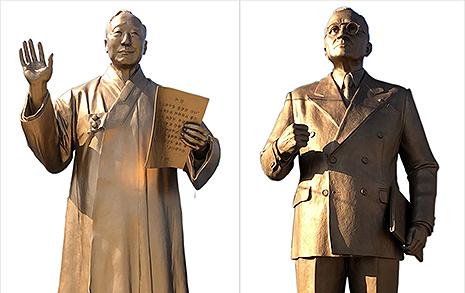 주한미군도 거부한 이승만·트루먼 동상, 경북에 설치?