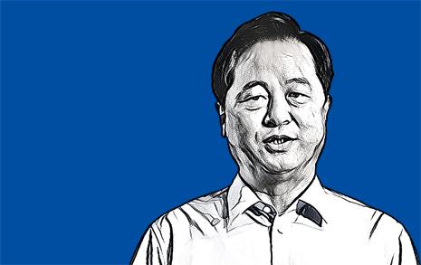 '지방분권' 대표선수 김두관 따라다니는 질문 '그때 왜 그랬어?'