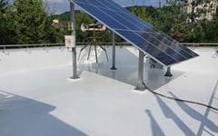지붕에 밝은색 페인트만 칠해도 온실가스 감축