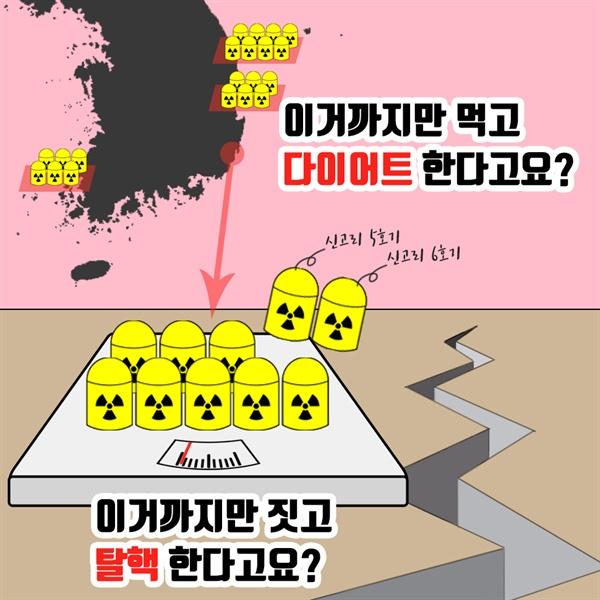 [만평] 탈핵 다이어트