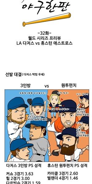 [야구카툰] '88 우승' 다저스, 29년만 대권 예감