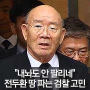 """""""내놔도 안 팔리네""""  전두환 땅 파는 검찰의 고민"""
